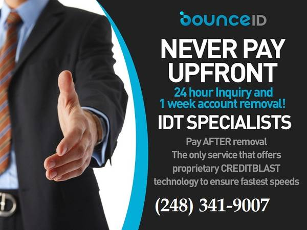 Photo Credit REPAIR and IDT Restoration No upfront fees (Business)