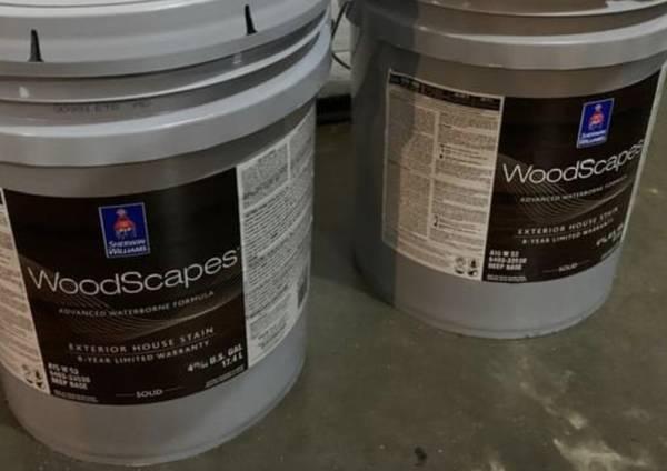 Photo Exterior Sherwin Williams 5 gallon bucket - $50 (West Bloomfield)