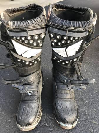 Photo Fly Racing Maverik Boots MX Size 7 - $50 (Canton)