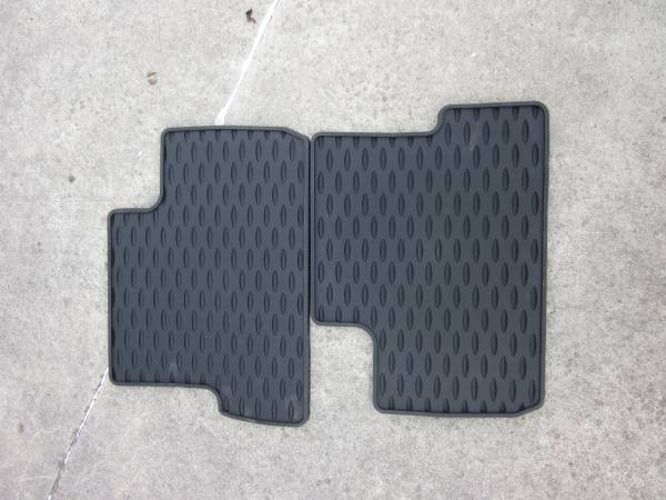 Photo Free Mazda 3 All-Weather Rear Passenger Rubber Floor Mats - Brand New (Livonia)