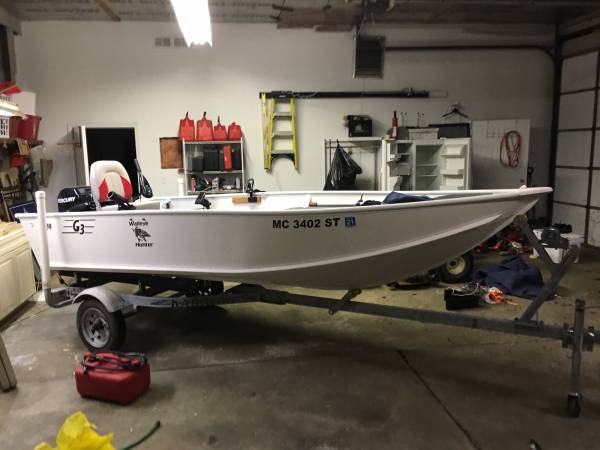 Photo G3 14 boat - $2500 (Ray Twp)
