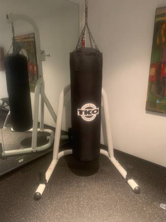 Photo Heavy Bag Stand and Bag - $325 (West Bloomfield)