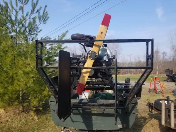 Photo Hybrid Air Boat - $2,500 (Howell)