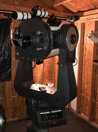Photo Meade 16 LX200 GPS Uhtc Telescope - $3200