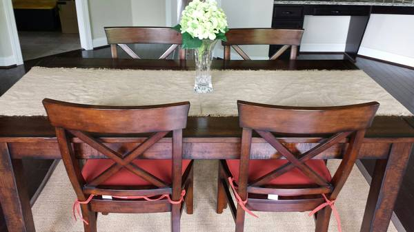 Photo Pottery Barn Dining Table 38quot x 72quot (Table Only) - $600 (Plymouth)