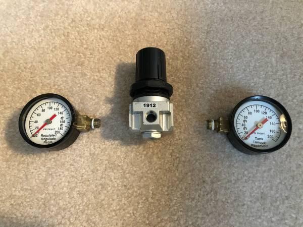 Photo Regulator Valve and Gauges for BD or Craftsman Compressor - $35 (Canton, MI)