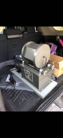 Photo Rock Tumbler and polishing media - $200