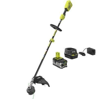 Photo Ryobi 18-Volt Cordless Attachment Capable Brushless Weed Wacker (Bloomfield)