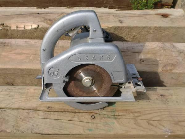 Photo Sears Craftsman Circular Trim Saw - EXC - $25 (Farmington)