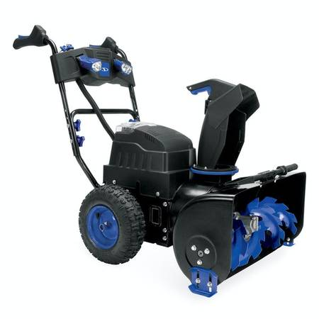Photo Snow Joe iON8024-CT 80-Volt iONMAX Cordless Two Stage Snow Blower - $500 (Shelby Twp)