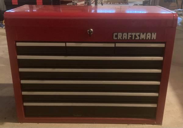 Photo Tool Chest - Craftsman 8 drawer - $175 (northville)