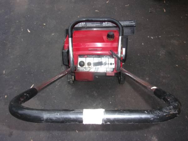 Photo Toro Snow Blower Electric Start (NEEDS A GEAR, will install) runs good - $45 (Plymouth, Mi)