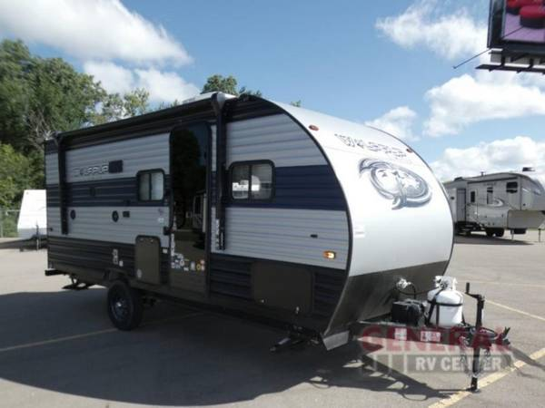 Photo Travel Trailer 2021 Forest River RV Cherokee Wolf Pup 18TO - $22,998