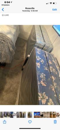 Photo Twin box spring or king box spring - $15 (Roseville)