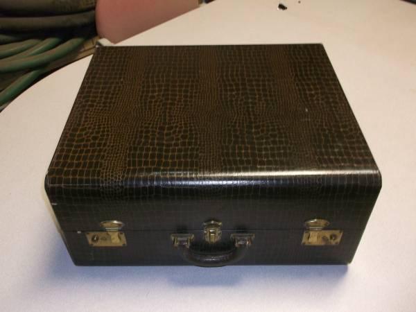 Photo Vintage Accordion Case Silvio Cordovox Sonola Hohner Titano Arpeggio - $70