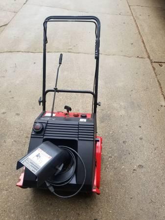 Photo Yard Machine Snowblower with electric start - $60 (Oxford)