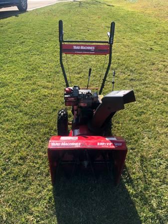 Photo Yard Machines two -stage snowblower - $240 (Rockwood)