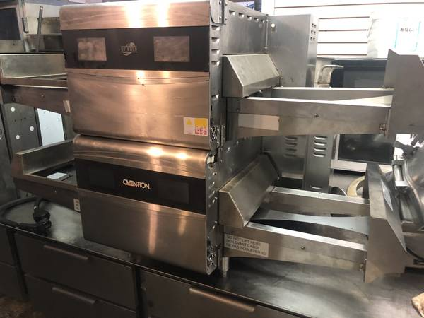 Photo ovention pizza oven 220v conveyor ovens restaurant pizzeria turbo chef - $7000 (WATERFORD)