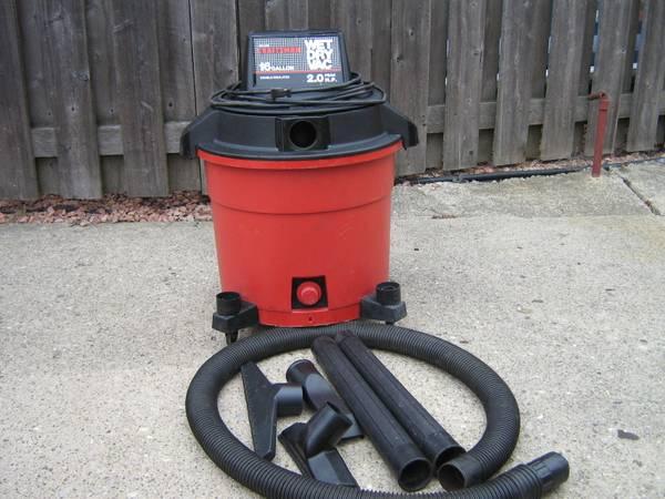 Photo shop vac 16 gallon 2 hp wet  dry craftsman - $50 (roseville)