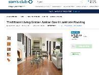 Oak Laminate Flooring For, Traditional Living Golden Amber Oak Laminate Flooring