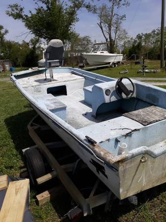 Photo 15 ft. Boat (Great Deal ) - $800 (Bayou George)