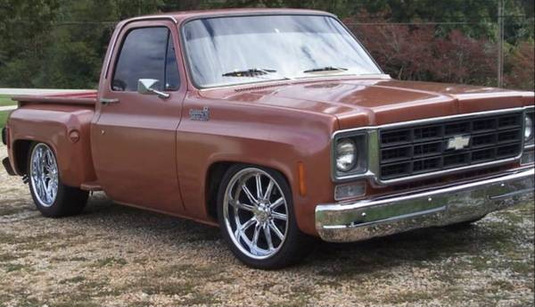 Photo 1978 Chevy C10 Stepside Short Bed Pickup Truck - $18,800 (Tallahassee)