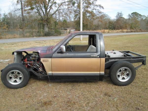 Photo 1986 Chevy S10 Hotrod Rat Rod V8 - $4,400 (Opp, AL)