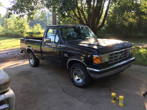 Photo 1988 FORD F150 XLT LARIAT SWB TRUCK ANDALUSIA, AL - $1000 (Andalusia)
