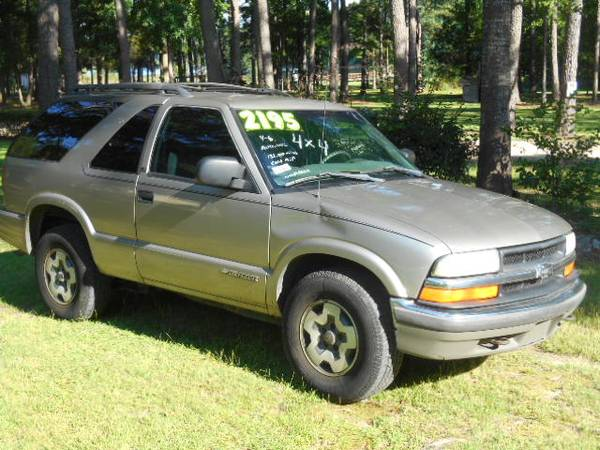 Photo 2001 Blazer 4WD Project - $1,950 (Abbeville)