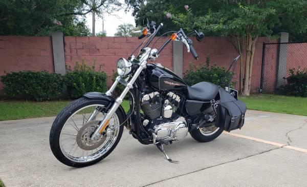 Photo 2007 Harley Sportster XL-1200C - $4,995 (Fort Walton Beach)