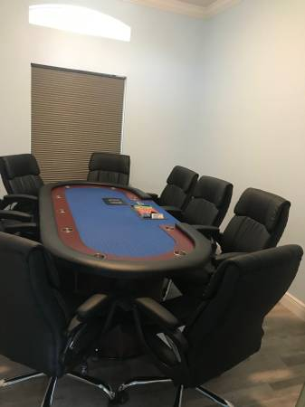 Photo 96quot Premium Poker Table - $1700