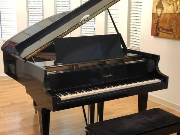 Photo BALDWIN R ARTIST GRAND PIANO in MINT CONDITION FREE DELIVERYTUNE - $6795 (Atlanta  FREE DELIVERY)