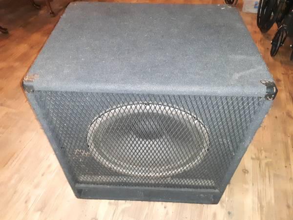 Photo Carvin RL115 Bass Cabinet - $115 (Baker FL)