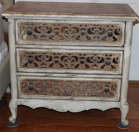 Photo Chatelet Fretwork Nightstands - Pair - $1600 (Dothan)