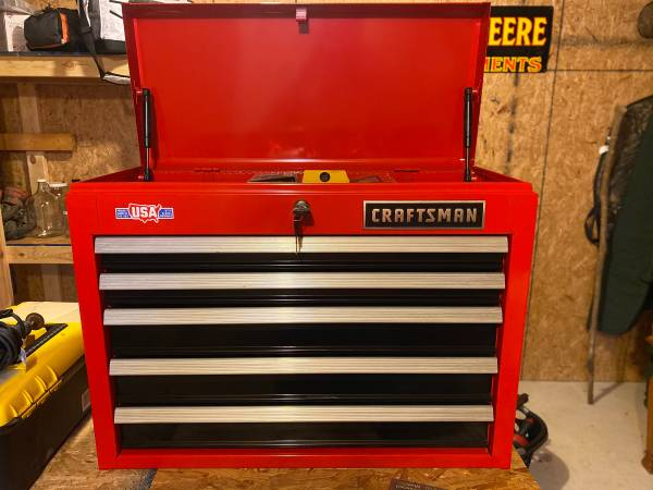 Photo Craftsman Tool Box with Tools - $220 (Wicksburg)