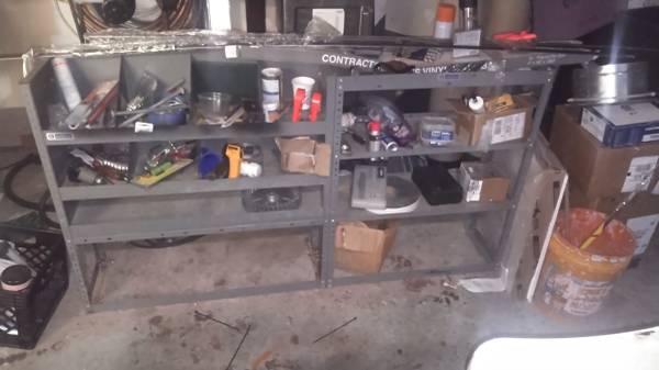 Photo Van shelves - $325 (Dothan)