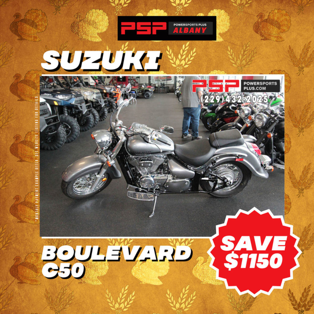Photo 2018 Suzuki Boulevard C50 $8299