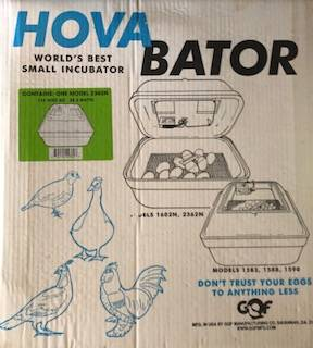 Photo incubator - $50 (Gordon)