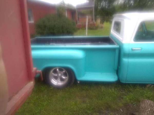 Photo 1965 Chevy step a side long box - $9000 (Dubuque Iowa)