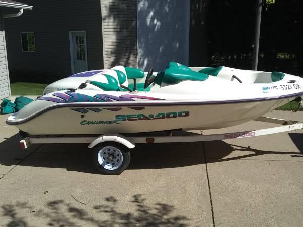 Photo 3996 SeaDoo Challenger jet boat - $2,900 (Platteville)
