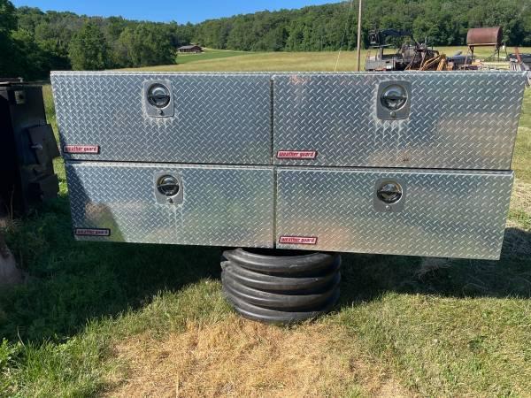 Photo 839 Weather Guard Diamond Plate Utility Boxes - $500 (Scales Mound)