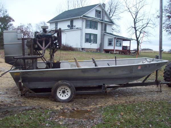 Photo Airboat - $7000 (Rural Garnavillo, Iowa)