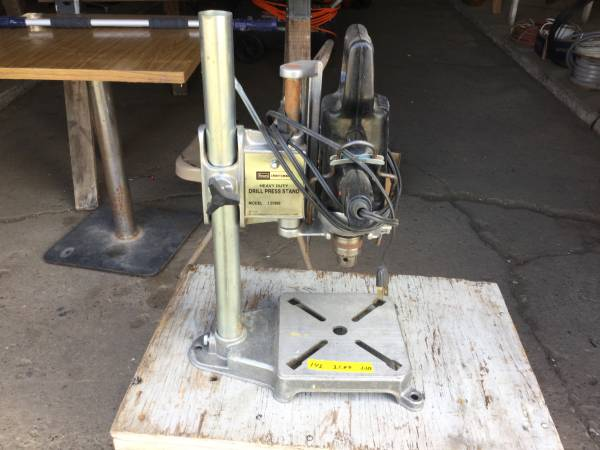 Photo Craftsman Drill Press - $25