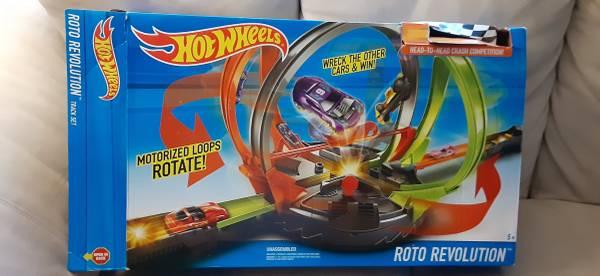 Photo Hot Wheels Roto Revolution