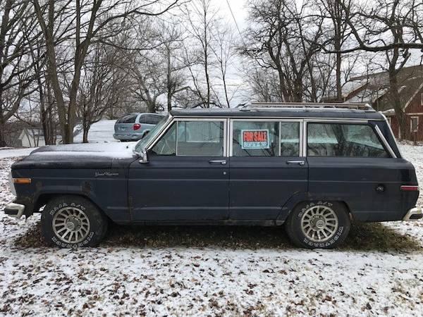 Photo Jeep Grand Wagoneer 4 x 4 - $1600 (Galena)