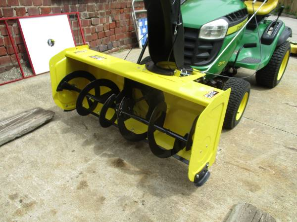 Photo John Deere Tractor Snowblower Attachment with ALL Accessories - $1,200 (Galesburg)