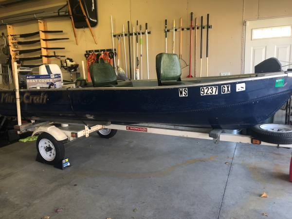 Photo Mirrocraft Boat  Trailer - $1,500 (Cottage Grove)