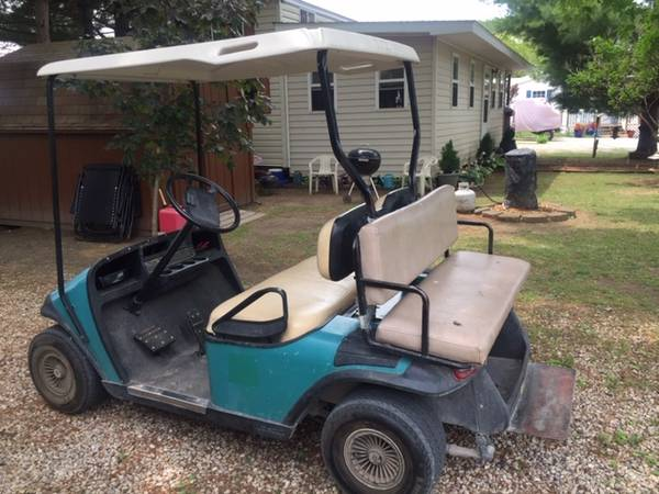 Photo Park Model with addition golf cart and shed - $45,000 (Lakeland Cing Resort Milton WI)