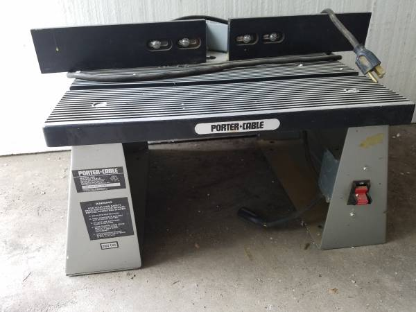 Photo Porter Cable Router Table - $75 (Guttenberg)