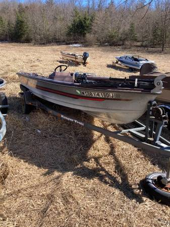 Photo Tuffy Rage boat and trailer - $1,800 (Madison - Belleville area)